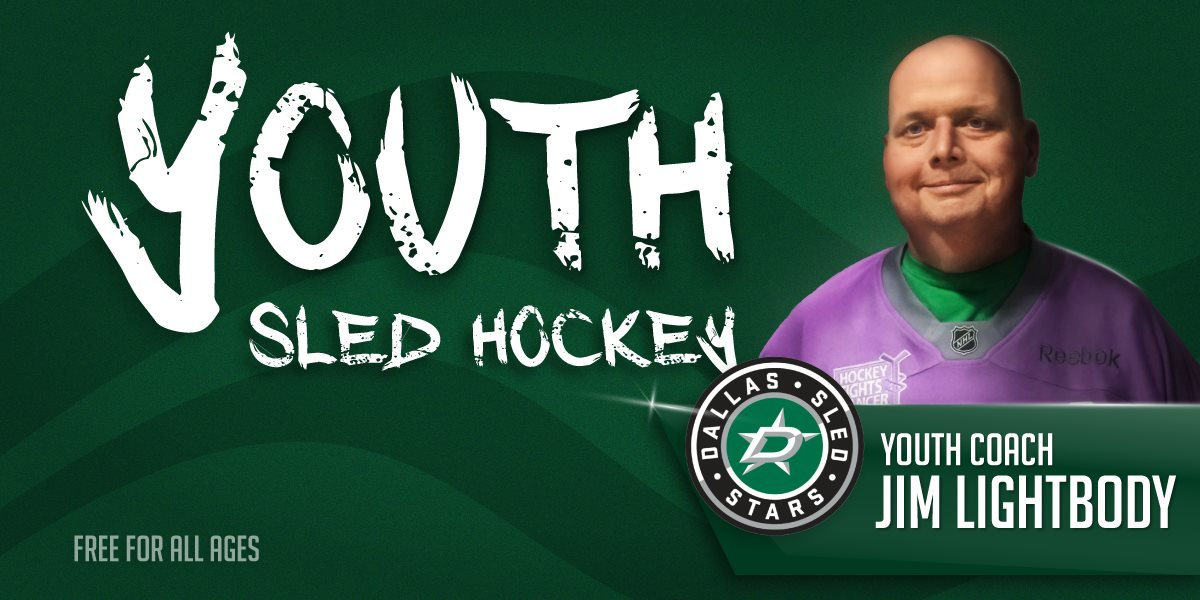 Youth Sled Hockey_Coach Jim Lightbody